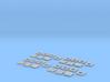 1:160 N Scale Concrete Blocks on Pallets x4 3d printed