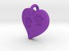 Pet Paw In Heart B 3d printed