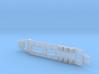 Lowboy Semi-Trailer, Tielflade-Auflieger 1/285 6mm 3d printed