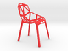 1:12 scale designer chair One Stacking Base 3d printed