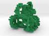Little and Cubed Ornament 3d printed