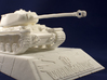 1:48 KV-1S Tank from World of Tanks game 3d printed Photo of printed model on stand. Stand is sold separately