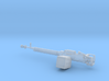DShK Machine Gun 1:16 3d printed