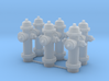 1/64 Hydrant Set of 6 3d printed