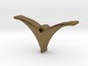Bird pendant/necklace 3d printed