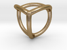 0070 Stereographic Polyhedra - Tetrahedron 3d printed