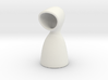 Hooded Vase 3d printed