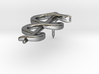 Rod of Asclepius Lapel Pin 3d printed