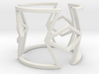 Other shapes and rhombus Ring Size 11 3d printed