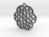 """""""Triquetra Ornament"""" Pendant, Cast Metal 3d printed"""
