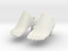 MMS Compatible Bare Foot 3d printed