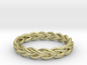 Ring of braided rope 3d printed