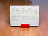 RE Guild D&D Player Card Holder 3d printed Coral Red
