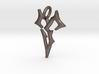 Final Fantasy Zanarkand Abes necklace 2cm symbol  3d printed