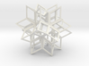 Rhombic Hexecontahedron, Open 3d printed