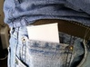 Ultra Slim Ring Box with Sliding Ring Feature 3d printed Ring box easily tucks away into jeans pocket.