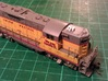 Locomotive 3 Chime Horns Type 3-1 & 3-2 N Scale 3d printed Type 1 Comparison On GP9