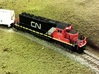 Locomotive 3 Chime Horns Type 3-1 & 3-2 N Scale 3d printed Type 2 On SD40-2