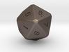 D20 dice 3d printed