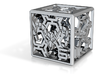 Cyberpunk-themed die: optimized for metals 3d printed
