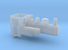 H0e Polish LAS locomotive 3d printed