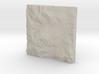 4'' Mt. Washington, NH, USA, Sandstone 3d printed