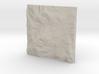 8'' Mt. Washington, NH, USA, Sandstone 3d printed