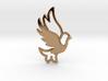 Dove combination pendant 3d printed