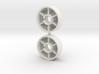 Mini-Z front rims Pt-02 +0 3d printed