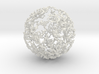 Dendritic Ornament, Lopsided Sphere no.1 3d printed