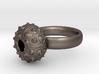 Sputnik Sea Urchin Ring 3d printed
