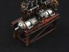 1/32 WWI Flugmotor Stand 3d printed engine model not included
