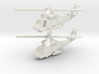 Kaman SH-2 Seasprite (two models) 1/285 6mm 3d printed