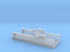Floating Drydock modern Style 1 Section 1/1800 3d printed