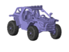 1/87 Scale 4x4 LMS-4 Buggy 3d printed
