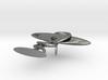 Bowl Of Hygeia RX Lapel Pin 3d printed