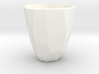 Polygon / Faceted cup 3d printed