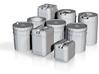 1/24 Liquid Container Set 3d printed