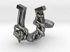 Luck N Roses Cufflinks Single Rose 3d printed