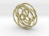 Spirograph Pendant (3D) 3d printed