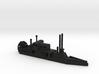 1/600 CSS/USS Barataria 3d printed