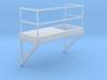 'HO Scale' - 8' Wide - Ladder Platform Right 3d printed