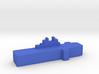 Game Piece Blue Force Assault Ship 3d printed