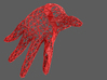 "Crawling Wire Hand - ""The Thing"" 3d printed Render"