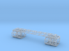 """12"""" Eagle Model Spine/Framework Upgrade For LAB PO 3d printed"""