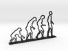 Human Evolution Desktop 3d printed