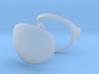 Mercury Astronaut / 1:12 / Helmet Visor 3d printed