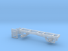 1/87th Single axle frame, suitable for KW CBE 3d printed