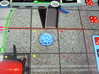 Foam Tokens, Set of 16 Flash Point 3d printed Foam token shown on game board