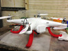 DJI Phantom - FPV lowrider kit 3d printed